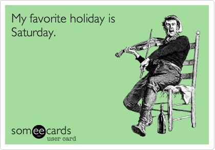 My favorite holiday is