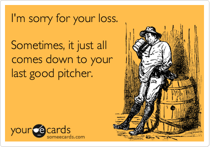 I'm sorry for your loss.