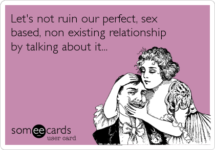 Non sex relationship