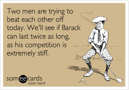 Two men are trying to 