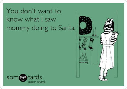 You don't want to