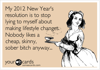 My 2012 New Year's