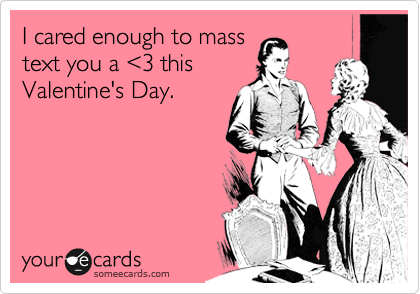 I cared enough to mass