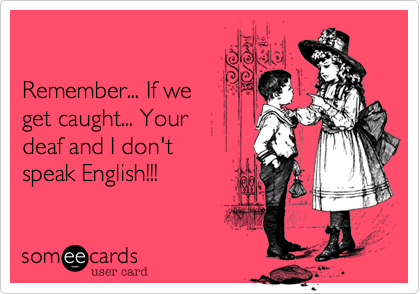 Remember... If we