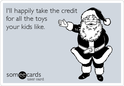 I'll happily take the credit