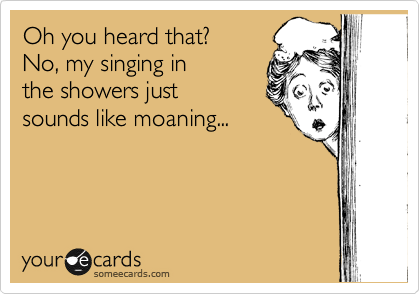 Oh you heard that?