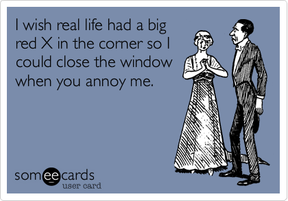 I wish real life had a big