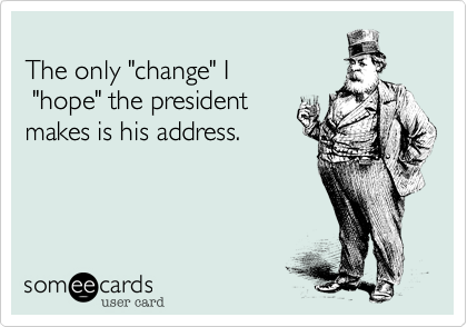 change of address ecards