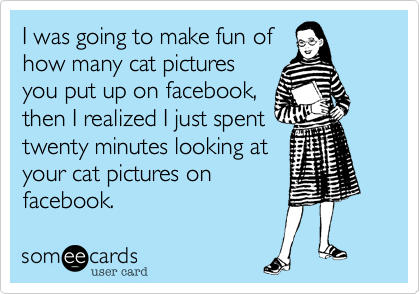 I was going to make fun of