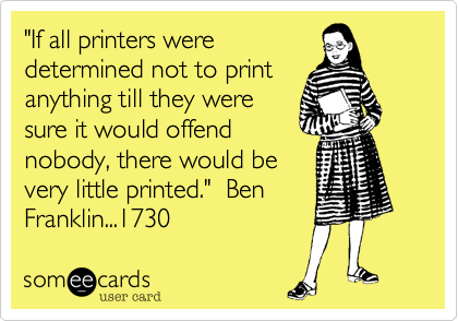 If all printers were