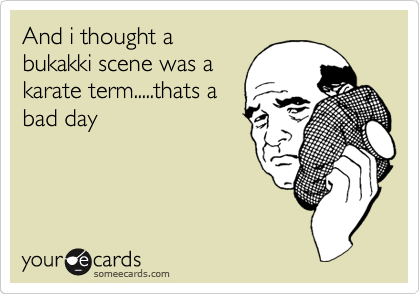 And i thought a