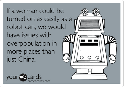 If a woman could be