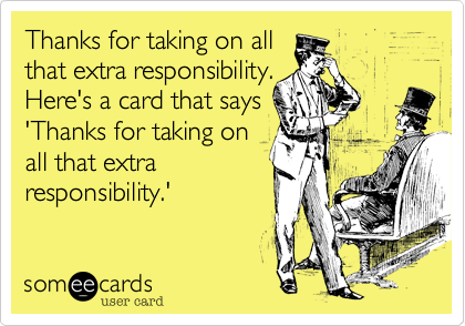 Thanks for taking on all