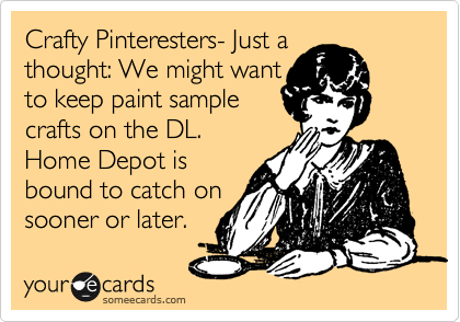 Crafty Pinteresters- Just a