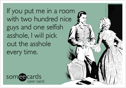 If you put me in a room