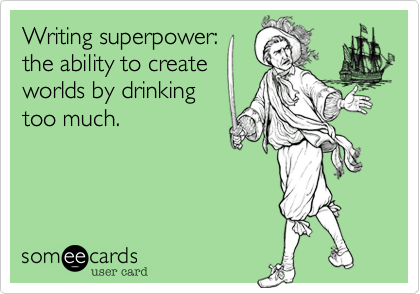 Writing superpower:
