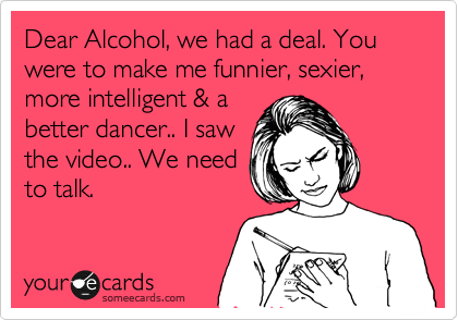 Alcohol deal