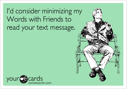 I'd consider minimizing my