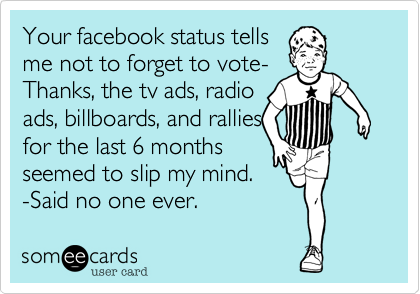 Your facebook status tells