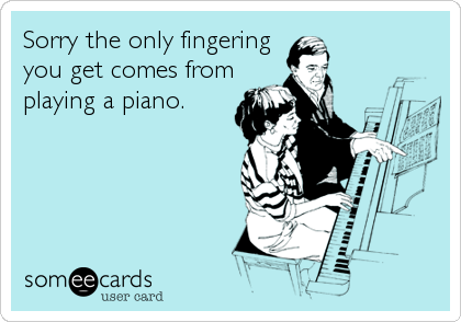 Sorry the only fingering you get comes from playing a piano.