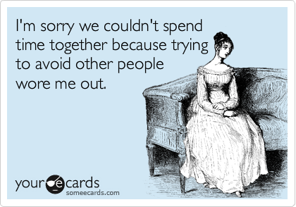 I'm sorry we couldn't spend
