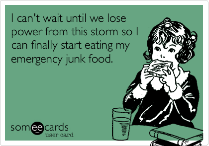 I can't wait until we lose