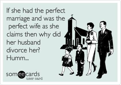 She had the perfect