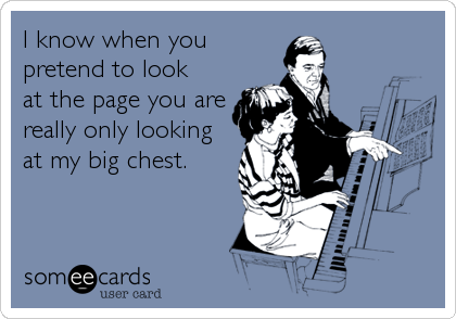 I know when you
