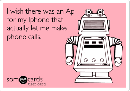 I wish there was an Ap