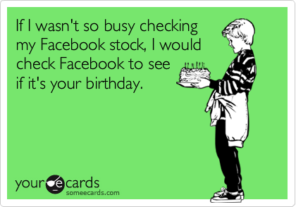 If I wasn't so busy checking