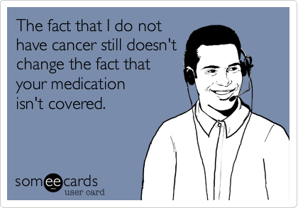The fact that I do not
