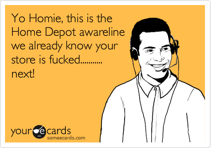 Yo Homie, this is the