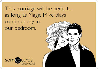 This marriage will be perfect....