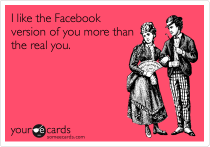 I like the Facebook