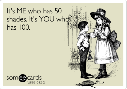 It's ME who has 50