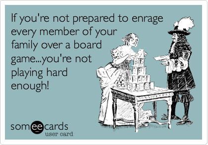 If you're not prepared to enrage