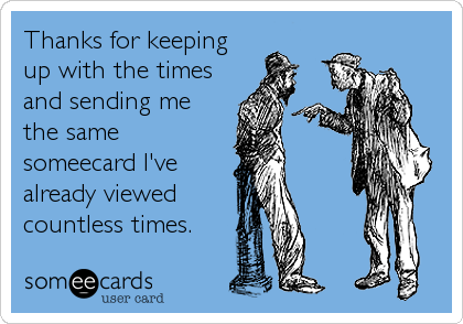 Thanks for keeping