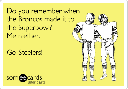 Do you remember when 
