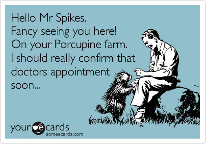 Hello Mr Spikes,
