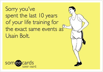 Sorry you've