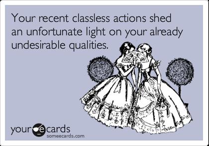 Classless women