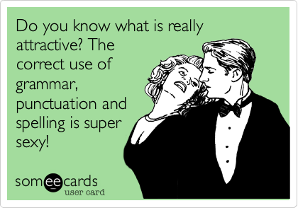 Do you know what is really attractive? The