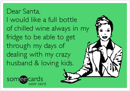 Dear Santa,