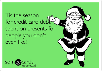 Tis the season
