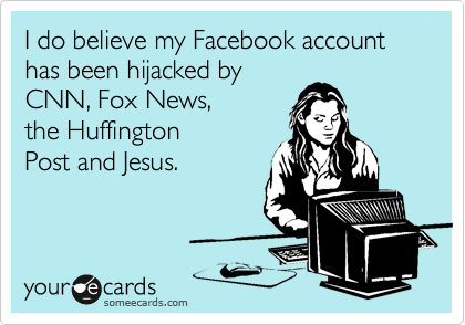 I do believe my Facebook account has been hijacked by