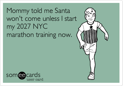 Mommy told me Santa