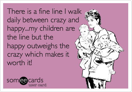 There is a fine line I walk