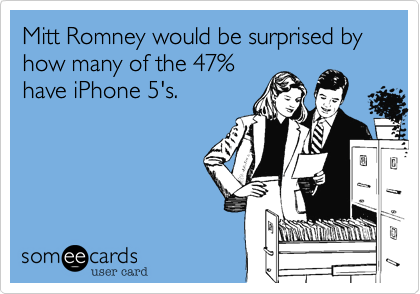 Mitt Romney would be surprised by how many of the 47%
