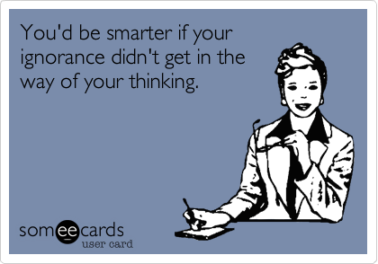 You'd be smarter if your