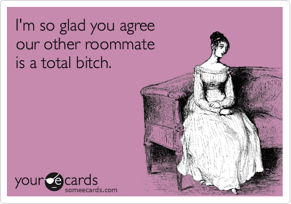 I'm so glad you agree 